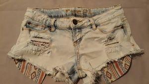 Rue21 lightwash jean shorts